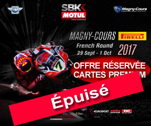 25 invitations pour le Mondial Superbike
