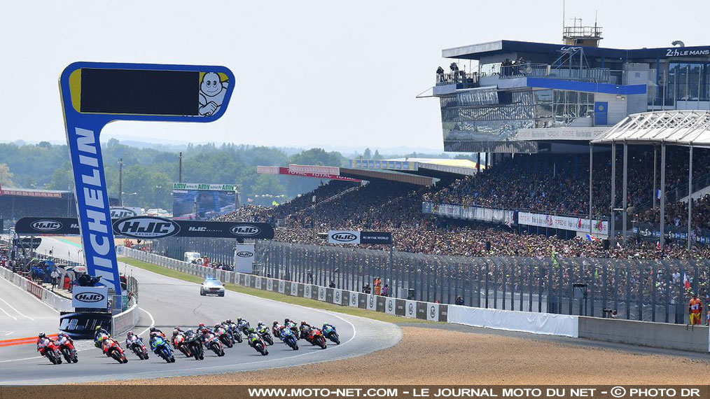 Le Grand Prix de France moto 2018 remporte la course de l'affluence