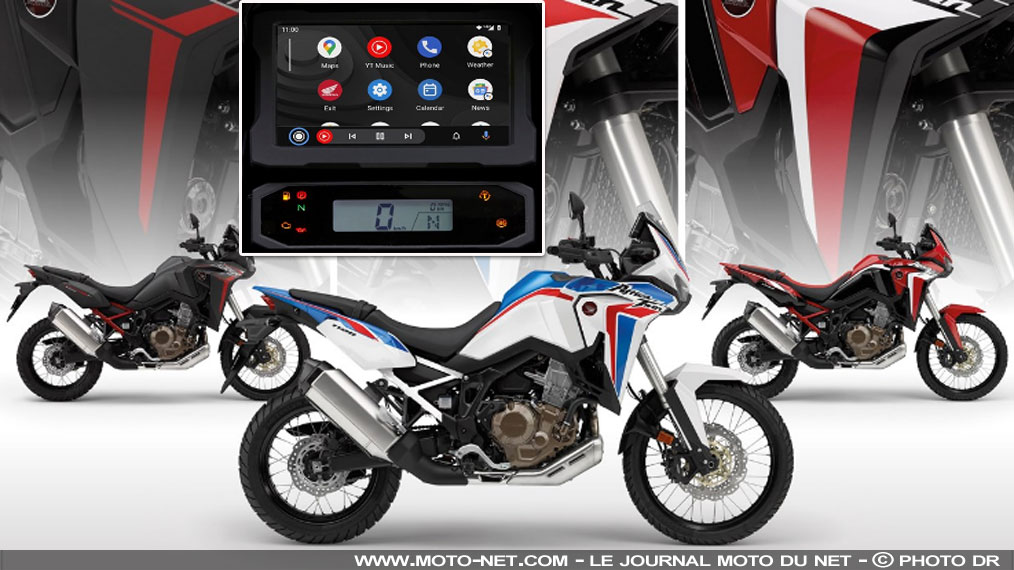 La Honda Africa Twin CRF1100L télécharge Android