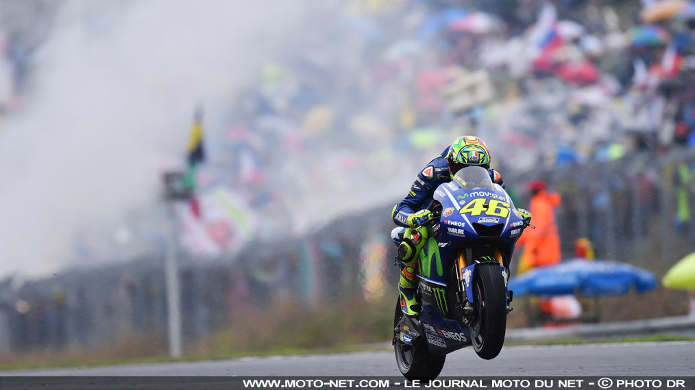 "Rossi (4ème) : ""Surmonter ce genre de conditions mixtes"""