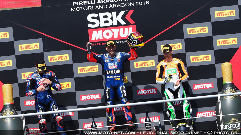 Déclarations des pilotes World Supersport 2018 à Aragon