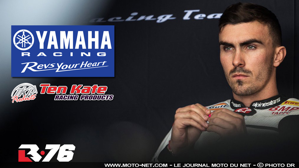 World Superbike 2019 : Loris Baz saute sur une Yamaha Ten Kate !