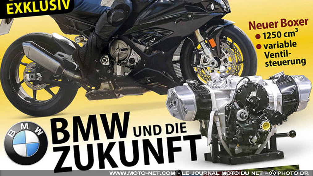 r d bmw motorrad bosse sur un big boxer distribution variable. Black Bedroom Furniture Sets. Home Design Ideas