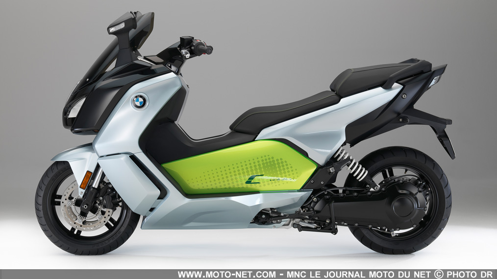 scooters deux nouvelles versions pour le scooter lectrique bmw c evolution 2017. Black Bedroom Furniture Sets. Home Design Ideas