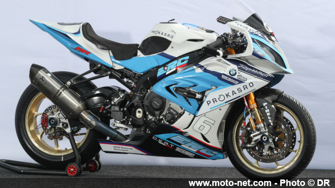 BMW en pole position des 24H Motos 2019 !