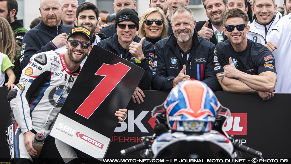 BMW conserve Tom Sykes dans son team officiel de World Superbike