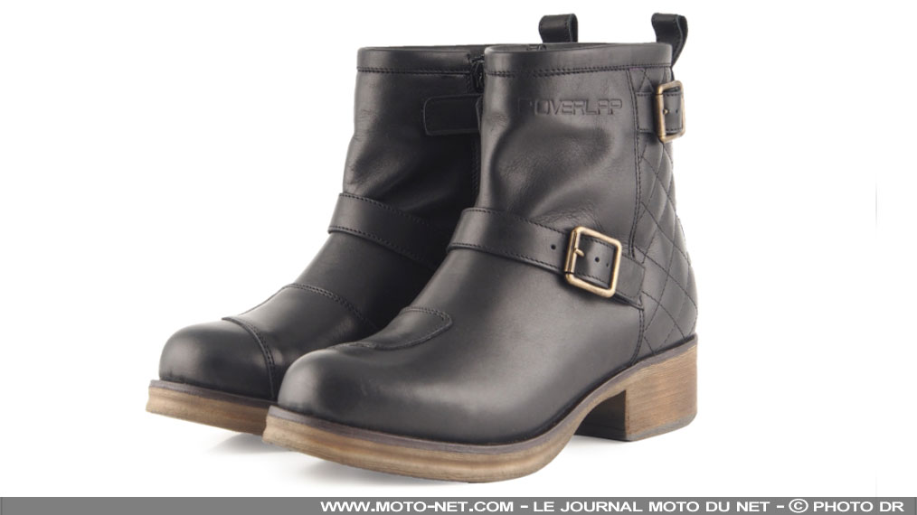 Bottines pour motardes Rock par Overlap