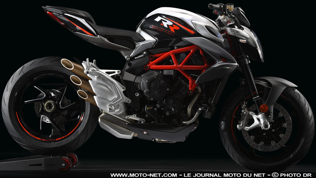 roadster mv agusta brutale 800 rr 2017 top mod le. Black Bedroom Furniture Sets. Home Design Ideas