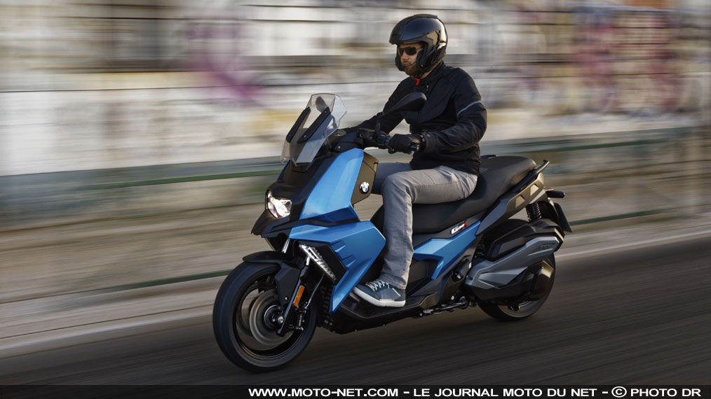 BMW C 400 X : le scooter sino-allemand