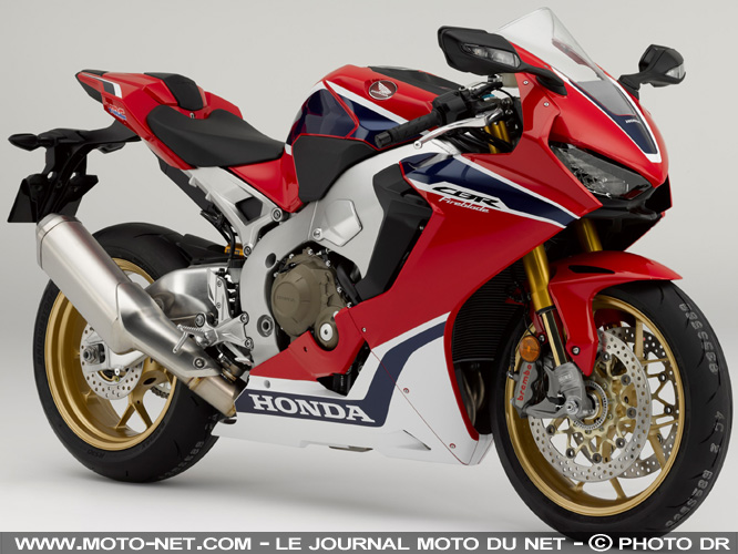 sportive honda cbr1000rr fireblade sp 2017 premi res informations. Black Bedroom Furniture Sets. Home Design Ideas