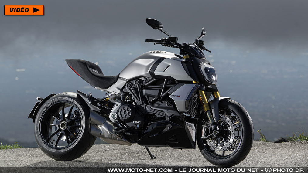 La Ducati Diavel 1260 passe à la distribution variable en 2019