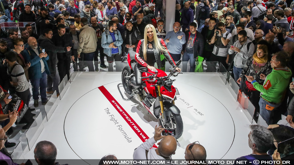 EICMA 2019 : la Streetfighter V4 plus belle que les RS660 et Superveloce 800