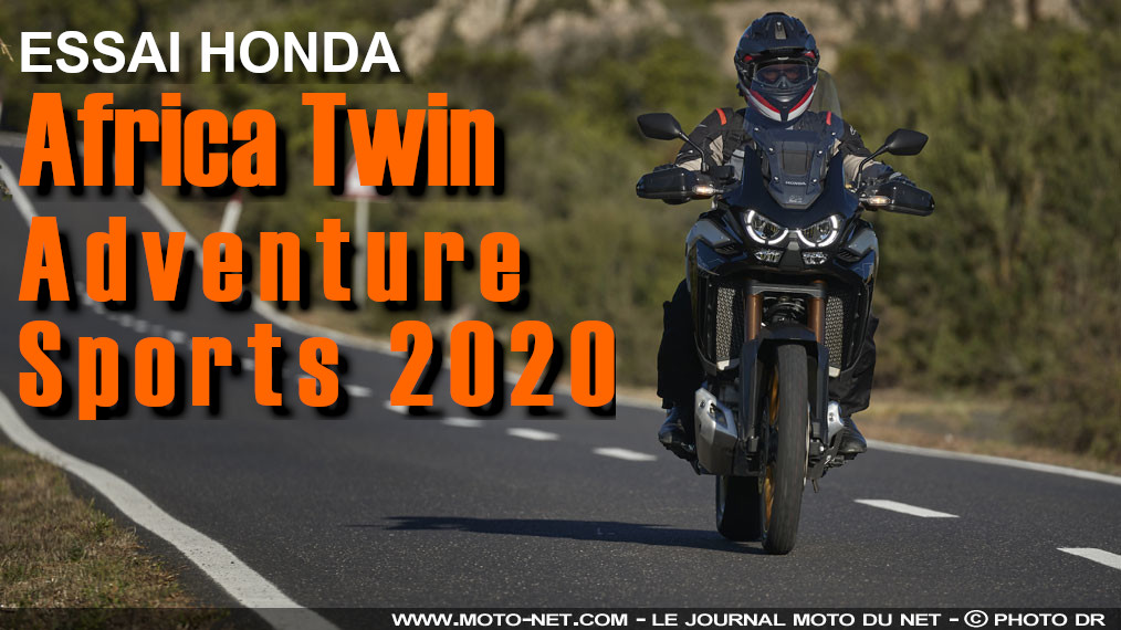 Essai Africa Twin Adventure Sports 2020 : plus accessible mais moins abordable
