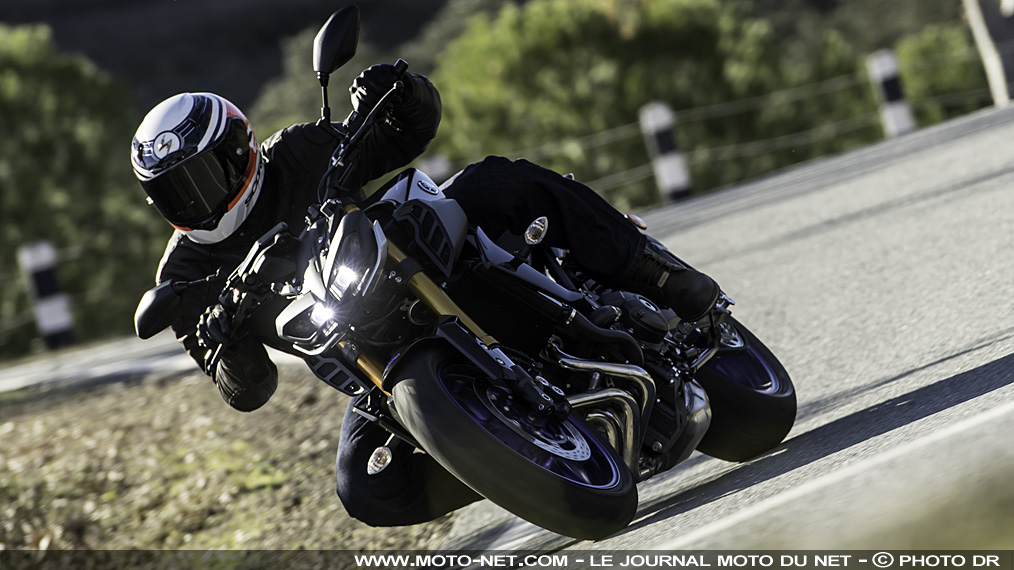 Essai Yamaha MT-09 SP : celle qu'on SPérait !