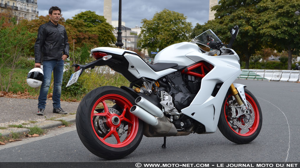 Essai Ducati Supersport S 2017 : belle à tout faire
