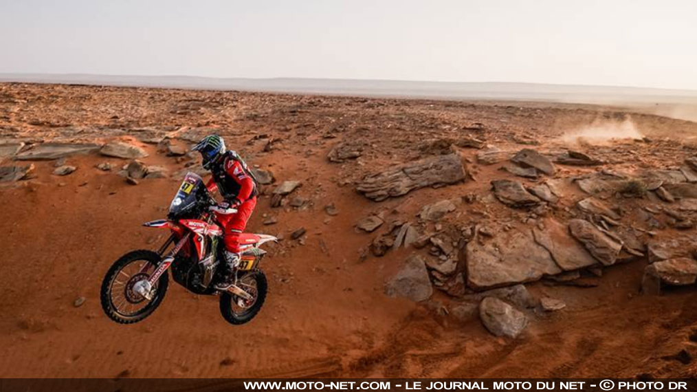 Dakar moto étape 9 : Honda en position de force suite au retrait de Price (KTM)
