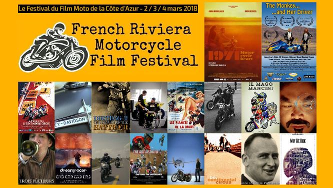 Sélection officielle du French Riviera Motorcycle Film Festival
