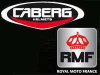 Royal Moto France distribuera les casques Caberg