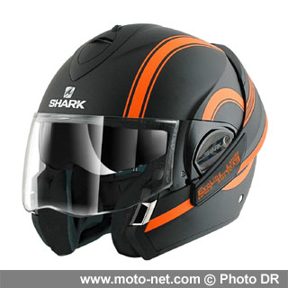 casque harley davidson shark id e d 39 image de moto. Black Bedroom Furniture Sets. Home Design Ideas