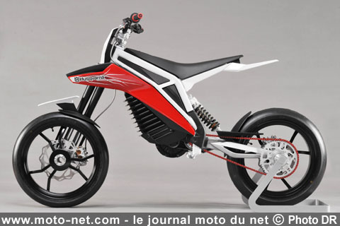 r d motos lectriques husqvarna e go et bmw concept e. Black Bedroom Furniture Sets. Home Design Ideas