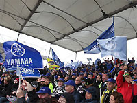 Moto GP : la tribune Yamaha au GP de France 2013