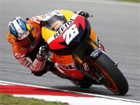 Moto GP - Malaisie : Pedrosa devant au warm up