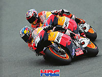 Moto GP : l'album photo de la saison 2012 du HRC