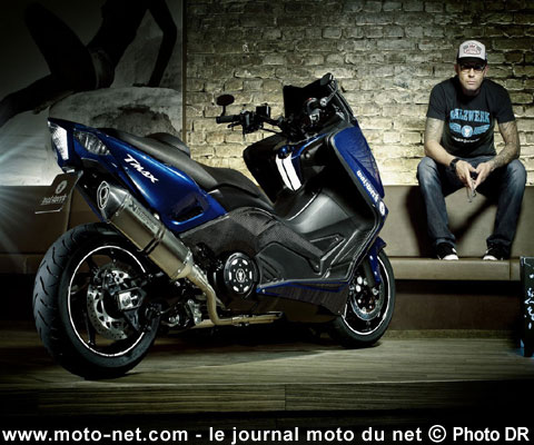 nouveaut s yamaha tmax 530 hyper modified par marcus waltz. Black Bedroom Furniture Sets. Home Design Ideas