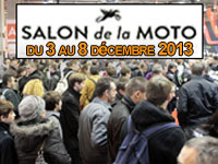 Les dates du salon de la moto de Paris 2013