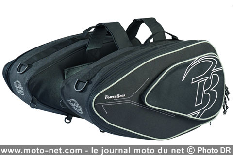 Bagagerie sacoches cavali res moto travel bags twin evo for Housse moto dafy