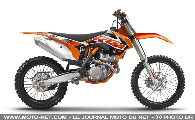 nouveaut s nouveaut s tout terrain les motocross et enduro ktm 2015. Black Bedroom Furniture Sets. Home Design Ideas
