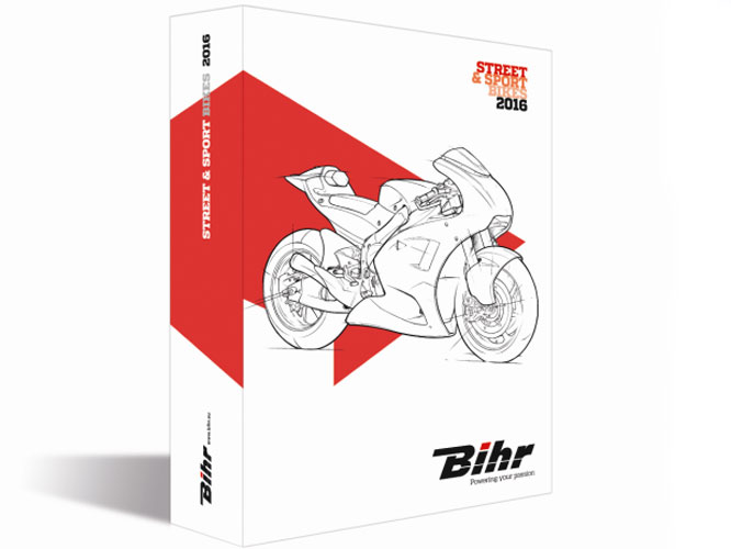 Le catalogue route 2016 de Bihr fait les choses en grand !
