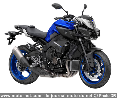 nouveaut s nouveaut 2016 yamaha mt 10 l 39 arme fatale. Black Bedroom Furniture Sets. Home Design Ideas