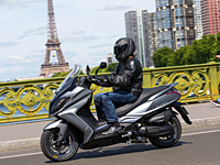 Bon plan scooter : 400 € offerts sur le Kymco Downtown 125