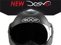 New Desmo : Roof met à jour son casque modulable