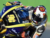 Le casque Scorpion Exo 2000 Air en Grand Prix Moto