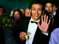 Valentino Rossi découvre le Goodwood Festival of Speed