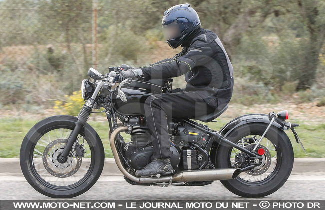 nouveaut s nouvelle sortie remarqu e du futur bobber de triumph. Black Bedroom Furniture Sets. Home Design Ideas