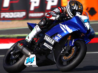 Lucas Mahias en Superstock 1000 ce week-end à Donington