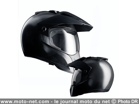 casques le casque enduro de bmw passe au carbone. Black Bedroom Furniture Sets. Home Design Ideas