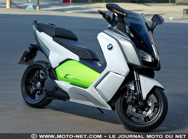 tous les tests essai scooter lectrique bmw c evolution volutionnaire. Black Bedroom Furniture Sets. Home Design Ideas