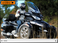 Essai Can-Am Spyder RT-S : 50% Goldwing, 50% MP3... 100% exotique !
