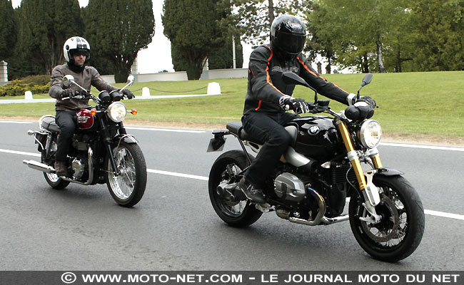 tous les comparatifs comparatif n o r tro r ninet vs cb1100 ex vs bonneville t100. Black Bedroom Furniture Sets. Home Design Ideas