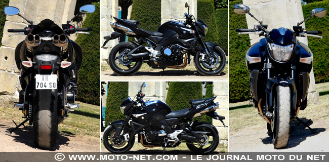 Comparo Diavel vs B-King vs Vmax : Des watts et de la frime !
