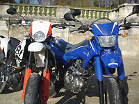 Duel Derbi/Suzuki Supermotard 125 : very good trip !