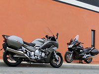 Duel Pan-European Vs FJR 1300 2013 : GT sur la route !