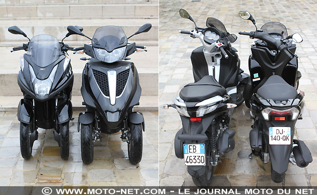 yamaha tricity vs piaggio mp3 motorcycle image ideas. Black Bedroom Furniture Sets. Home Design Ideas