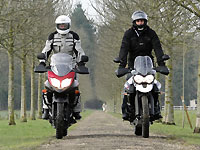 Duel Tiger 800 XCx Vs V-Strom 650 XT : baroudeurs ou baratineurs ?