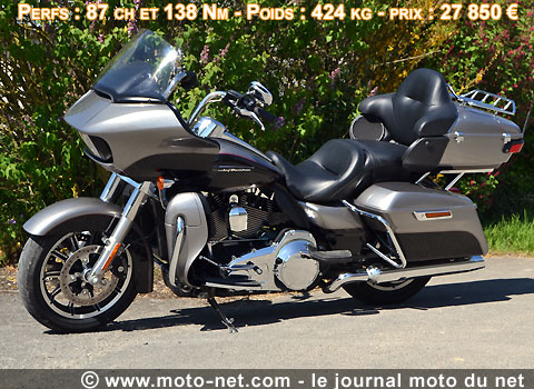 custom essai longue distance 1400 km en duo avec la road glide ultra. Black Bedroom Furniture Sets. Home Design Ideas