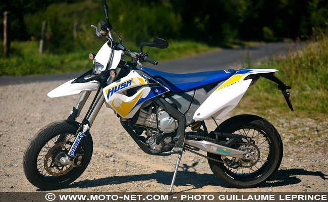 Prise de contact Husaberg 570 FS : the crazy toy !